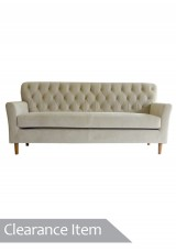Bared Upholstery Sofa 3 seater *Clearance Item*