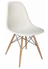 DSW Replica Eames SIDE Chair. Black or White