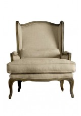 Casa Louis Wingback Arm Chair