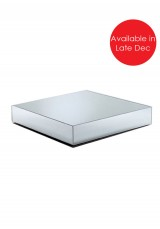 Alaina Square Mirrored Coffee Table W95