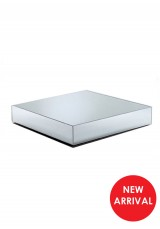 Alaina Square Mirrored Coffee Table W95cm