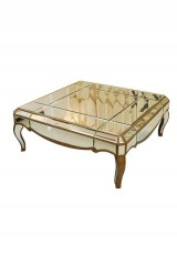 Arquatto Mirrored Coffee Table 90x90cm