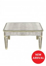 Chelsea Mirrored Coffee Table 85x85cm
