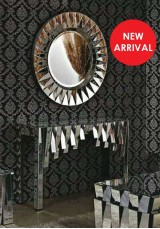 Adrian Mirrored Console Table 120cm
