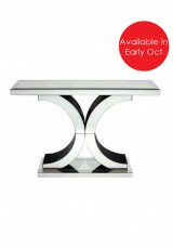Anita Mirrored Console Table 118cm