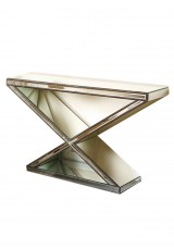 Payton Mirrored Console Table 109cm