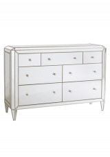 Aadi Mirrored 3+7 Chest Drawer W137
