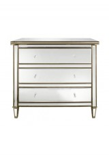 Chelsea Mirrored 3 Drawer Chest 85cm