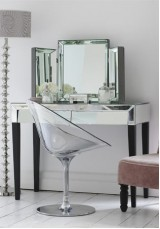 Angel Mirrored Dressing Table/ Desk