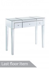 Jaz Mirrored Dressing Table 100cm *Defect Item*
