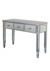 Jenna Mirrored Dressing Table W110cm