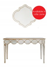 Kyrie Dressing Table with Mirror