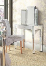 Madonna Mirrored Dressing Table W90cm