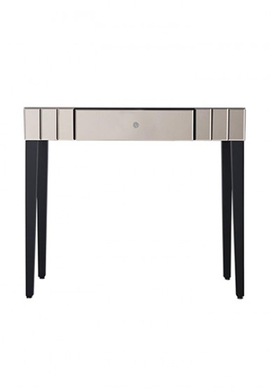 Shard Dusk Mirrored Dressing Table 90cm