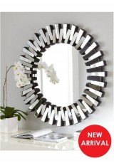 Hester Round Wall Mounted Mirror Dia90cm