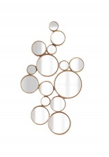 Keoni Circle Wall Mirror