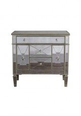 Avery Antique Style Mirrored Cabinet 120cm