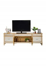 Abnert Mirrored TV Cabinet W140cm