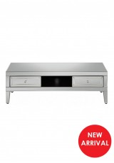 Bunty Mirrored TV Cabinet W125cm