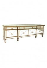 Abnert Mirrored TV Cabinet W160cm