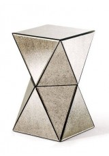 Ashland Mirrored Side Table 40cm  *Last Floor Item*