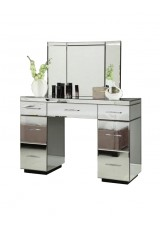 Faith Mirrored Desk / Dressing Table 120cm