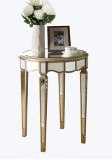 Jimmy Mirrored Side Table 45cm