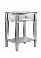 Marnie Mirrored Side Table W56cm