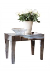 Lily Mirrored Side Table 65cm