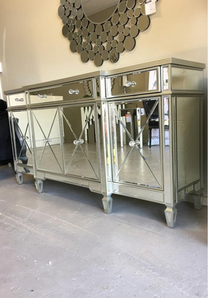 Abnert Mirrored Buffet Sideboard W179cm