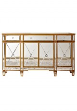 Abnert Mirrored Buffet / Sideboard / TV Unit 179cm