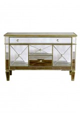 Avery Mirrored Sideboard / Buffet Cabinet 120cm