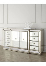 Capri Mirrored Buffet / Sideboard W160