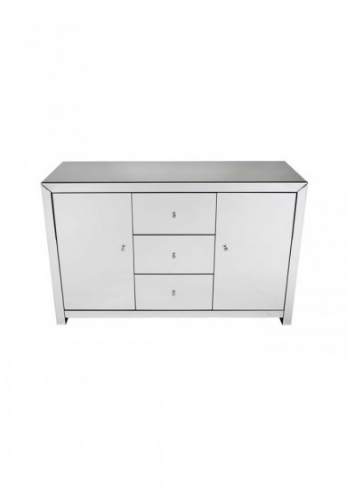 Daisey Mirrored Large Sideboard W135cm