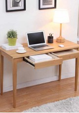 Bobby Solid Oak Desk 94W