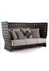 Kade Outdoor Sofa High Back - Three Seater