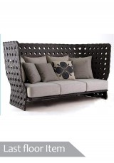 Kade Outdoor Sofa High Back - Three Seater *Clearance Item*