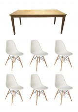 Amani + DSW Dining Set 7 Piece